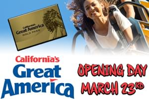 California's Great America Opening Day!