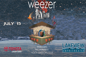 Weezer @ St. Joseph's Health Amphitheater at Lakeview | July 15th