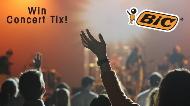 Win summer concert tix with the 95X BIC Flex Contest!