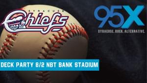95X Deck Party with the Syracuse Chiefs