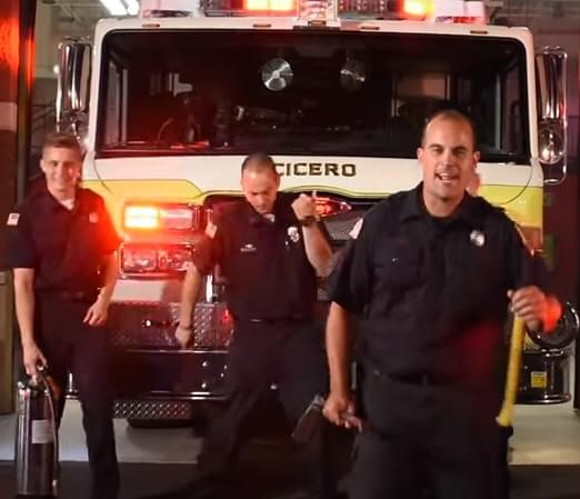 Cicero NY Fire Department #LipSync Challenge!  (Syracuse PD and FD… need to get on board!)