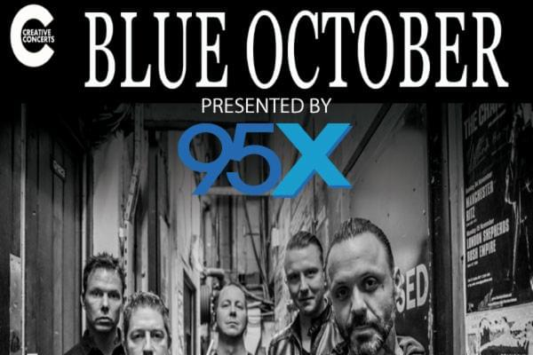 Blue October @ The Westcott Theater | November 10th