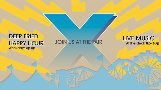 Join 95X at the 2018 NYS Fair!