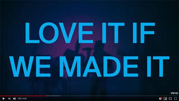 New Video from The 1975   Love It If We Made It