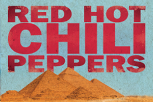Red Hot Chili Peppers LIVE at the Giza Pyramids!!