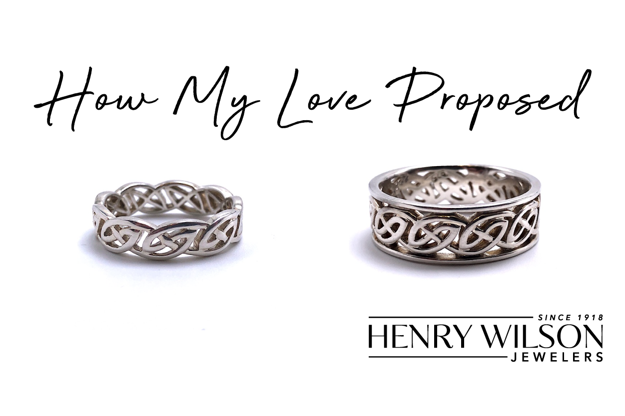 How My Love Proposed…   Wedding Band Contest