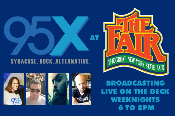 Join 95X at the 2019 NYS Fair!