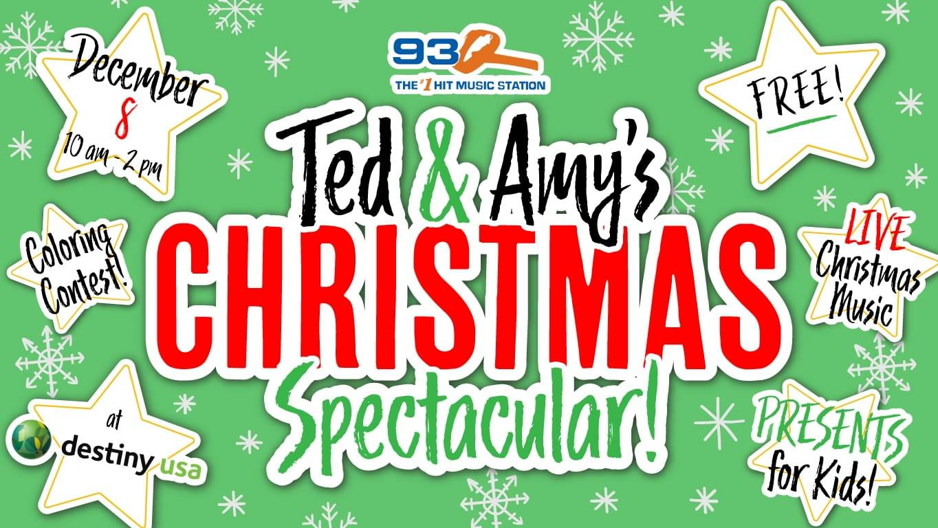 Ted & Amy's 93Q Christmas Spectacular | December 8th