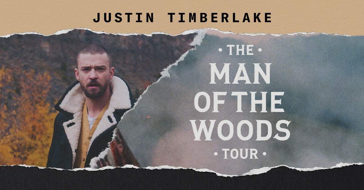 Justin Timberlake, The Man of the Woods Tour, Buffalo | October 28th