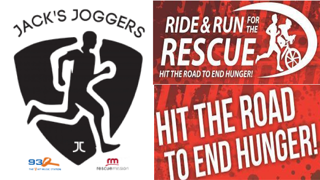 Run with Jack's Joggers to end hunger in CNY! | Ride and Run for the Rescue