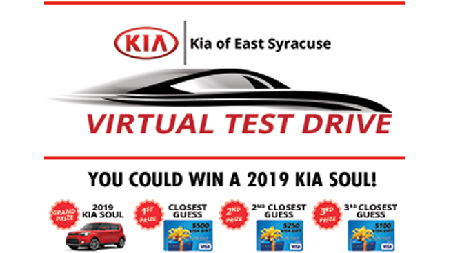 Win Prizes @ Kia of East Syracuse | Now through July 28th