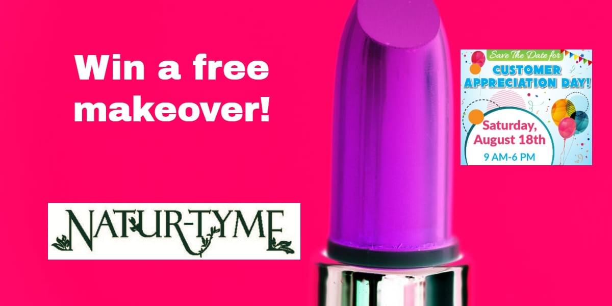 WIN a Fall Makeover from Natur-Tyme!