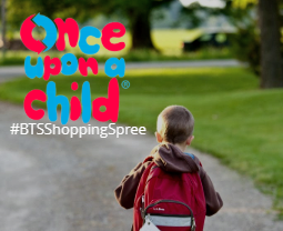 WIN a Back to School Shopping Spree with Once Upon A Child!
