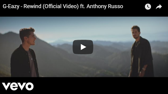 """Rick's Pick – G-Eazy – """"Rewind"""" ft. Anthony Russo"""