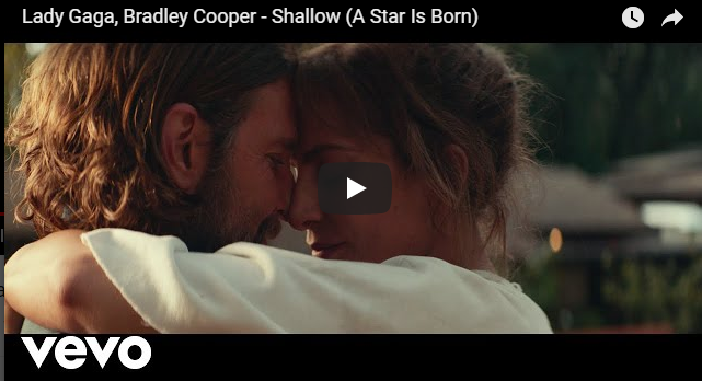 "Rick's Pick – Lady Gaga, Bradley Cooper – ""Shallow (A Star Is Born)"""