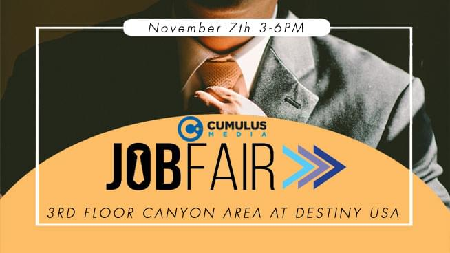 Cumulus Media Fall Job Fair | November 7th