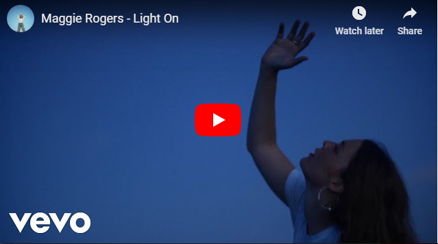 "Rick's Pick – Maggie Rogers – ""Light On"""