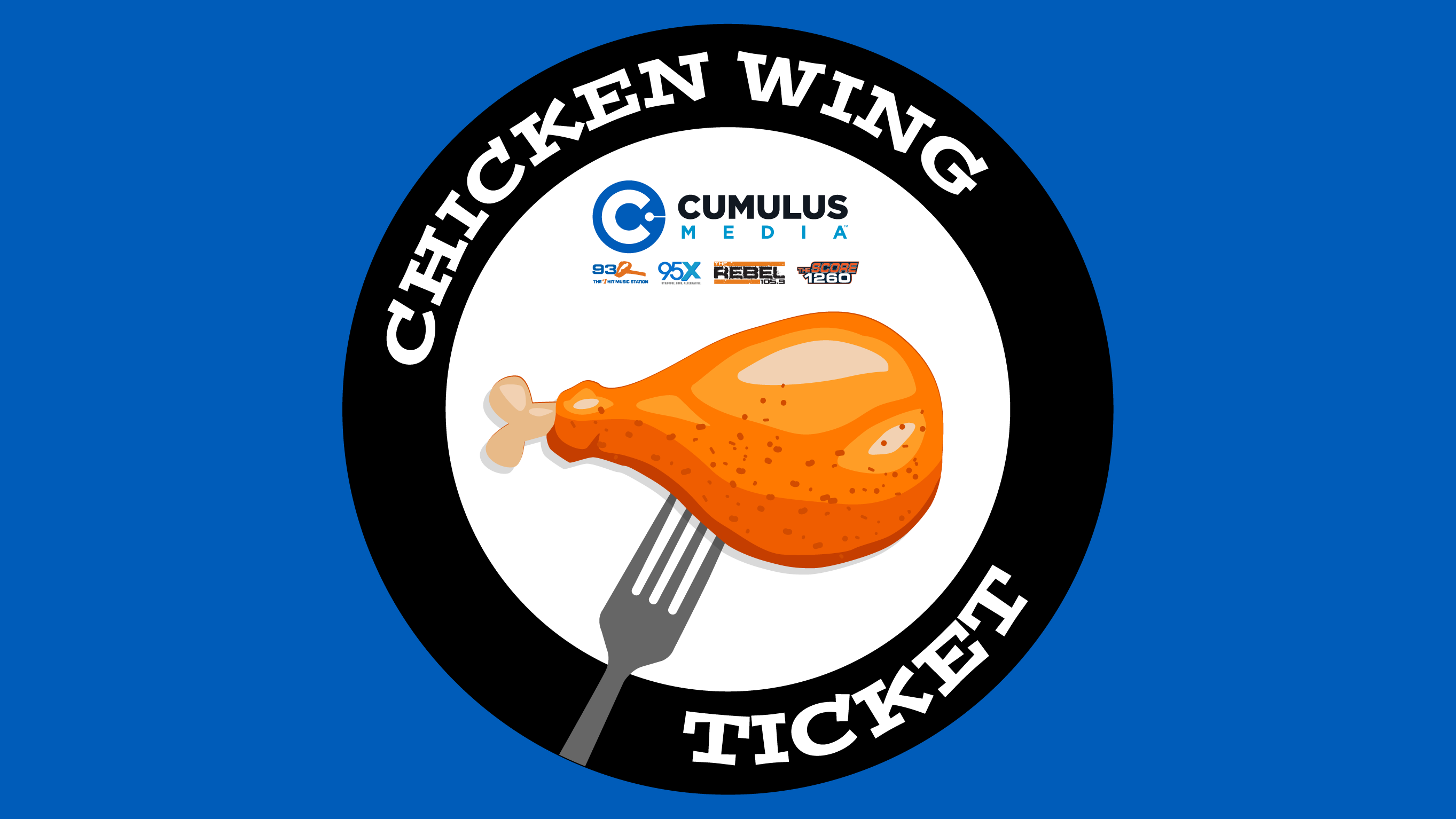 Cumulus Chicken Wing Ticket