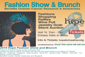 Hope For Heather Fashion Show | April 14th
