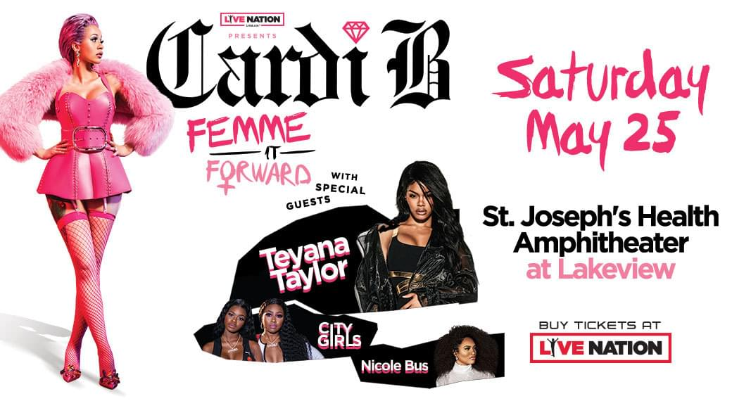 Cardi B Femme It Forward | September 7th (Rescheduled Date)