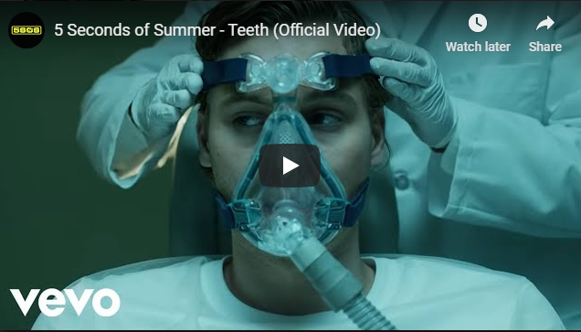 "Rick's Pick – 5 Seconds of Summer – ""Teeth"""