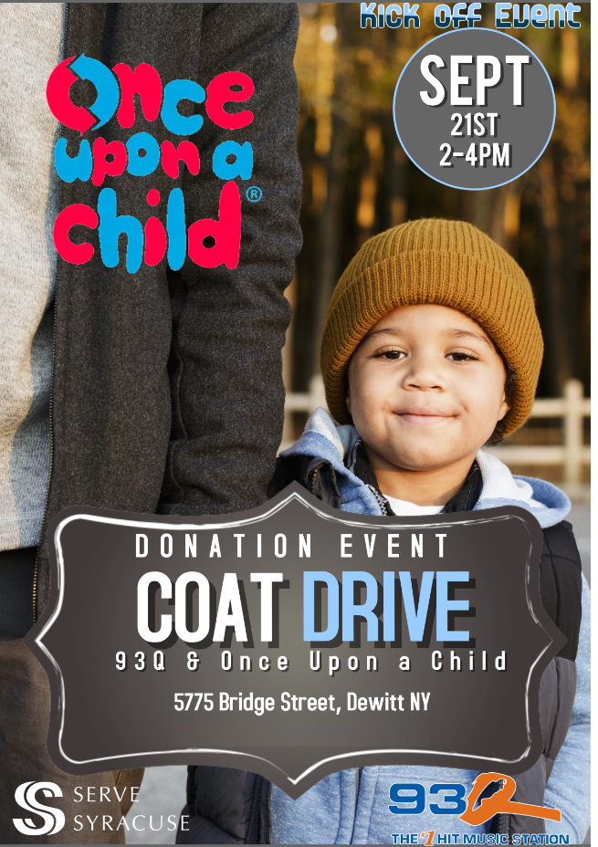 Once Upon A Child Coat Drive Kickoff Event