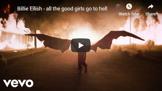 "Rick's Pick – Billie Eilish – ""all the good girls go to hell"""