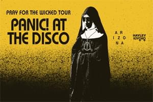 August 3: Panic! At the Disco