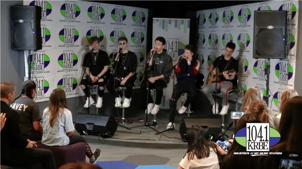 Why Don't We performs in Studio 104
