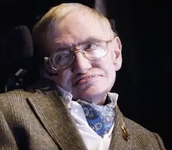 Stephen Hawking's Voice Launched Into Black Hole