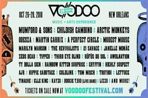 Win VIP access to the Voodoo Music + Arts Experience