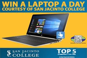 Win a New Laptop from San Jacinto College