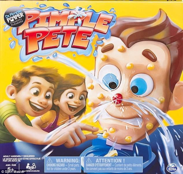 New Pimple Popping Board Game Set To Be Released By Dr Pimple
