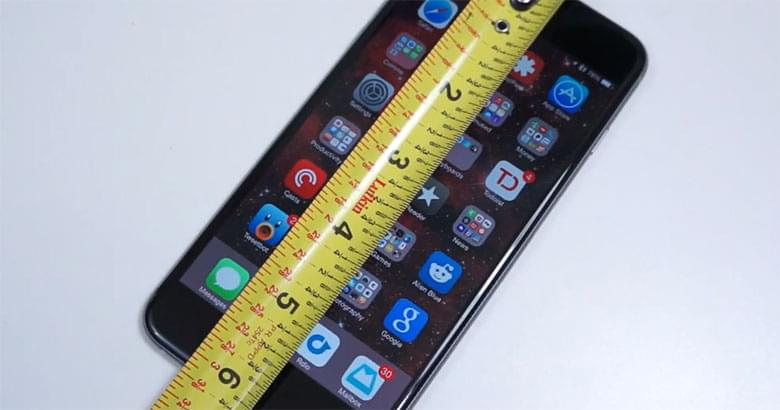 Apple just released a new measuring app…you know where this is going.