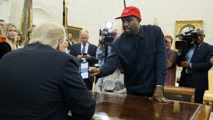Kanye West accidentally outed his passcode on NATIONAL TELEVISION!