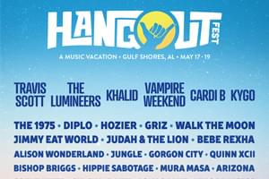 May 17-19: Hangout Music Festival