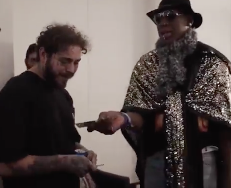 What Did Dennis Rodman Get Post Malone For Christmas?