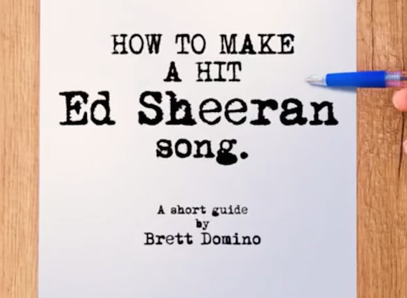 This Tutorial Shows You How To Create Your Own Ed Sheeran Song