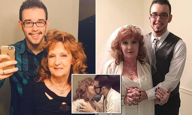 Grandmas Cookie's weren't enough! 72 year old marries her 19 year old grandson.