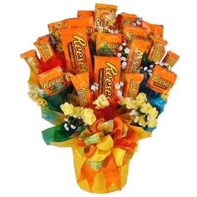 A Reese's Bouquet for Valentine's Day? I think yes!
