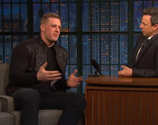 JJ Watt Left The Superbowl Before The Kickoff Because He Couldn't Bear To Watch It
