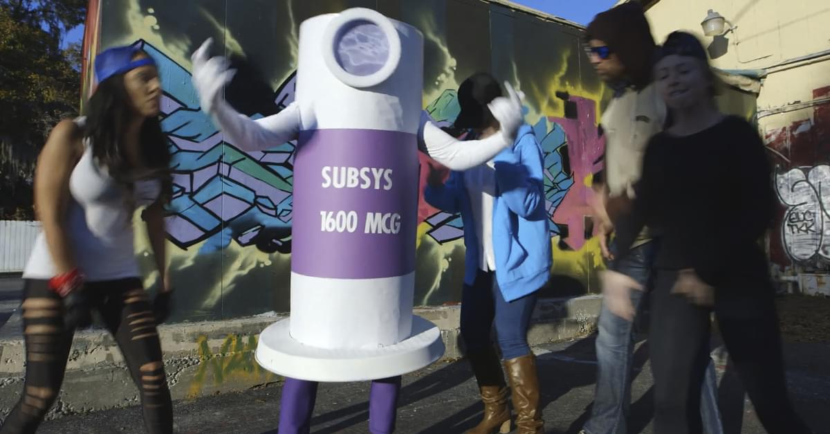 Dancing pill bottle rap video used to promote opioid