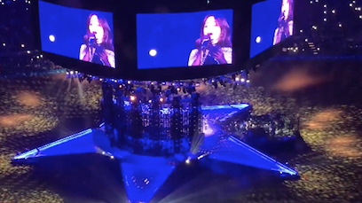 Camila Covers Selena At Rodeo Houston