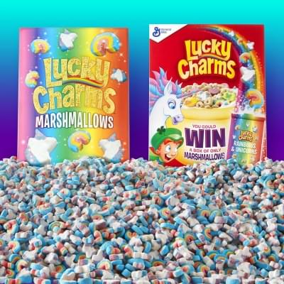 Lucky Charms To Give Away 15,000 Boxes Of Marshmallow Only Cereal