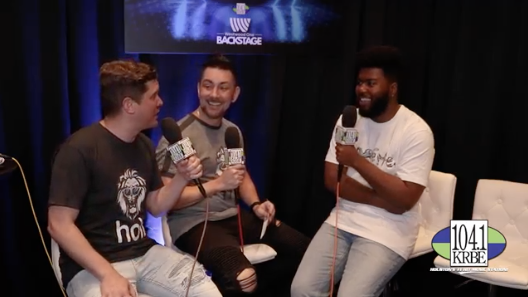 Special K & Kevin Quinn interview Khalid at the 2019 BBMAs