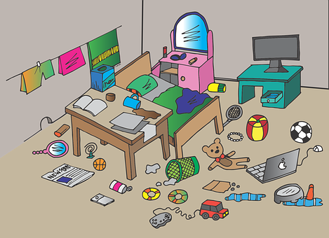 People who live with roommates tend to be messier