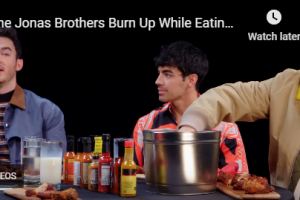 Jonas Brothers on First We Feast Hot Ones Youtube