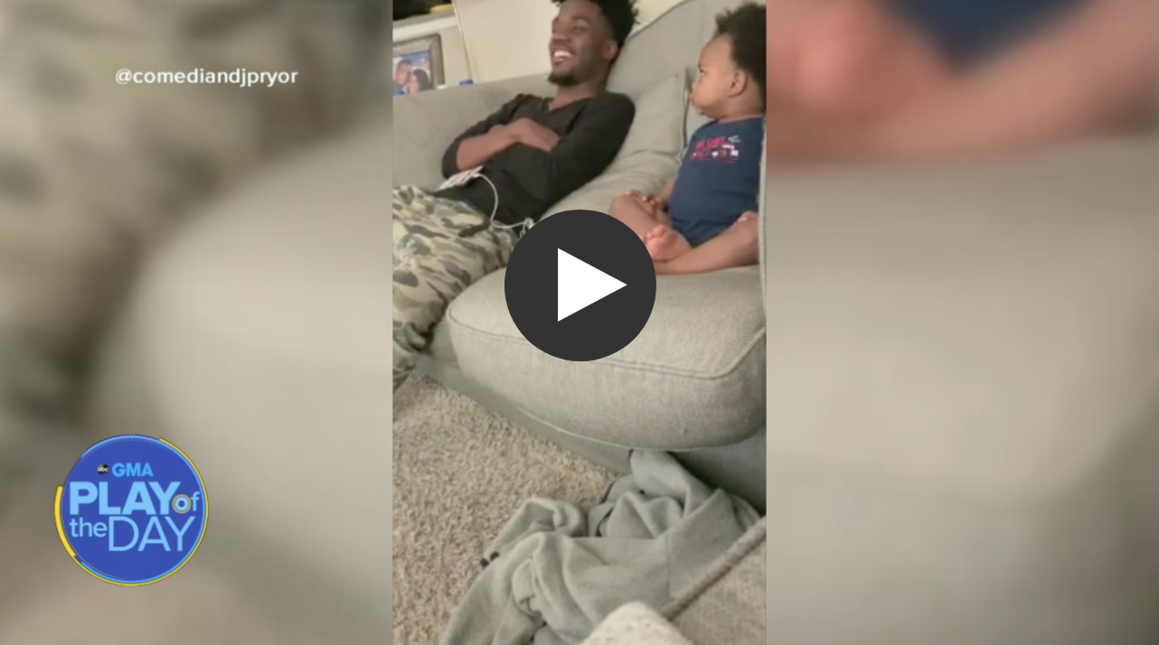 WATCH: Adorable 'Conversation' Between Toddler and Dad