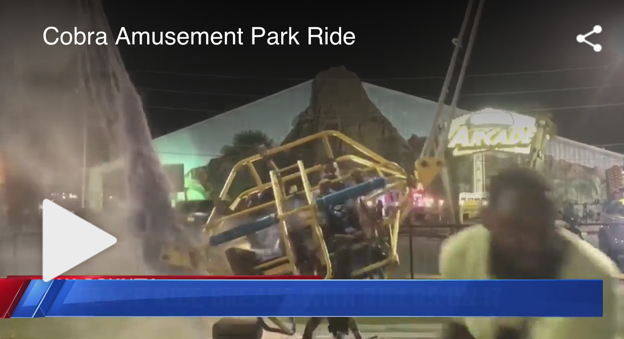 WATCH: Bungee Cord Snaps Right Before Florida Ride Launches