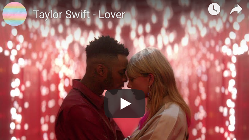 WATCH: Taylor Swift's 'Lover' Music Video
